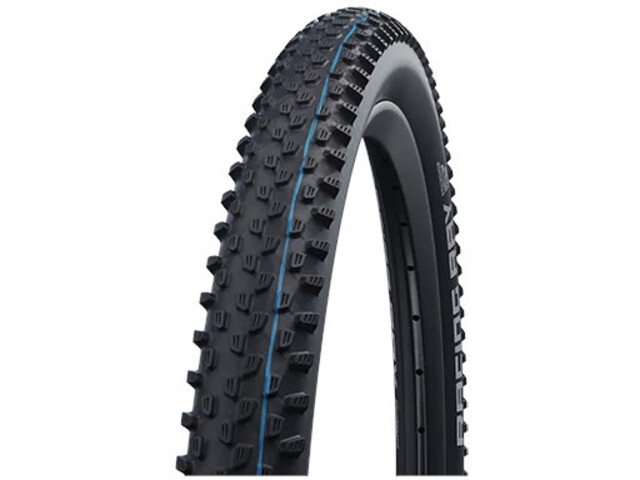 "SCHWALBE Racing Ray Super Ground Evolution Folding Tyre 26x2.25"" TLE E-25 Addix Speedgrip, black"